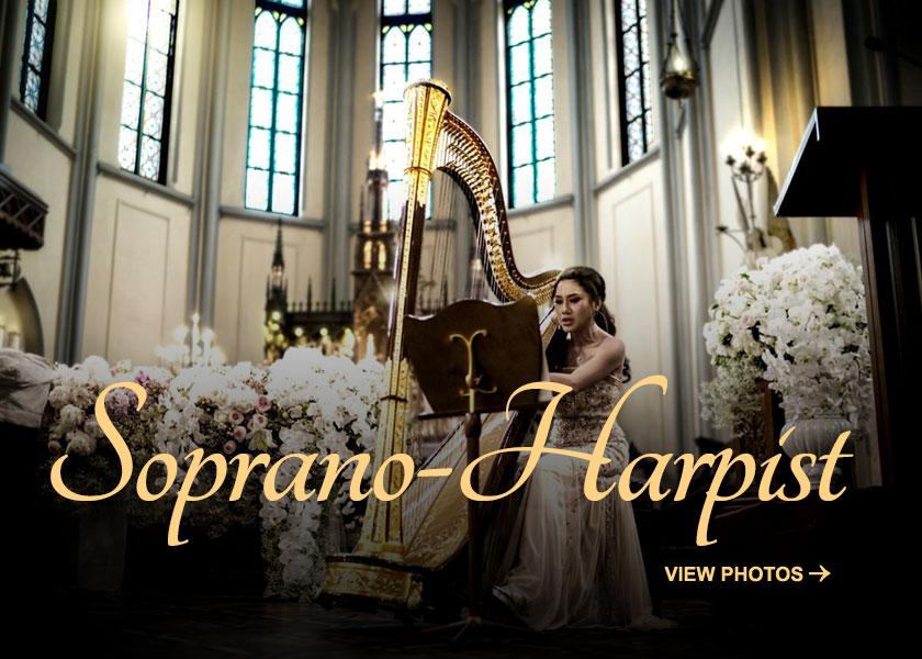 Regina Handoko Soprano Harpist